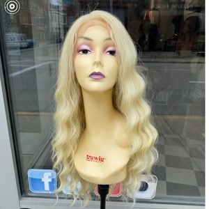 Fullace human hair Blende 613 wig
